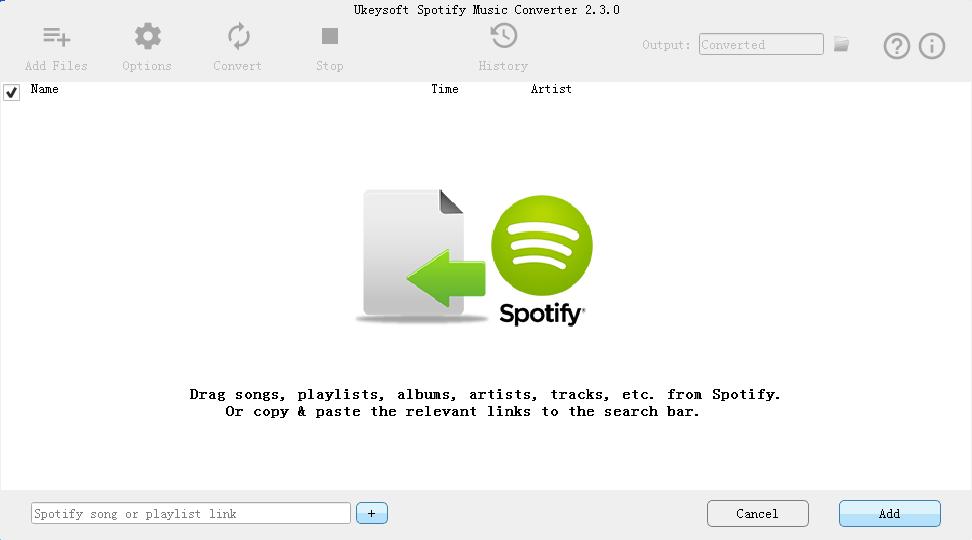 UkeySoft Spotify Converter - Convert Spotify Music to MP3