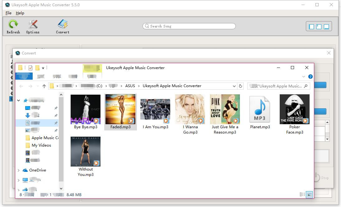UkeySoft Apple Music Converter - Convert Apple Music to MP3