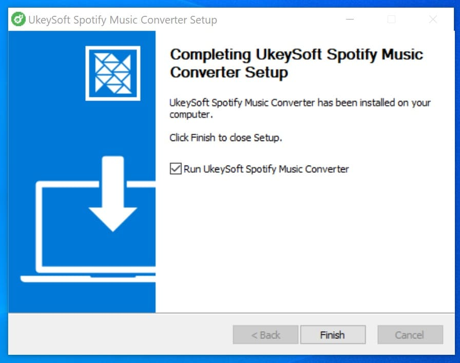 UkeySoft Spotify Music Converter User Guide