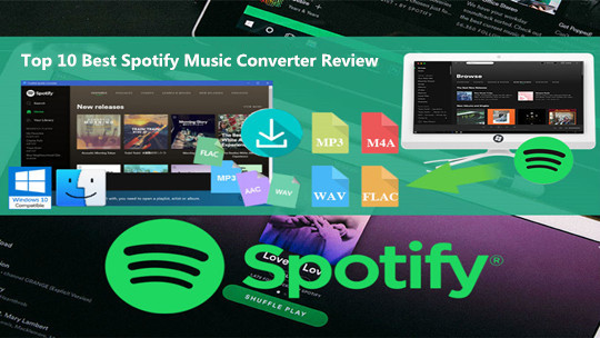 Top 9 Spotify Music Converter Review - Download & Convert