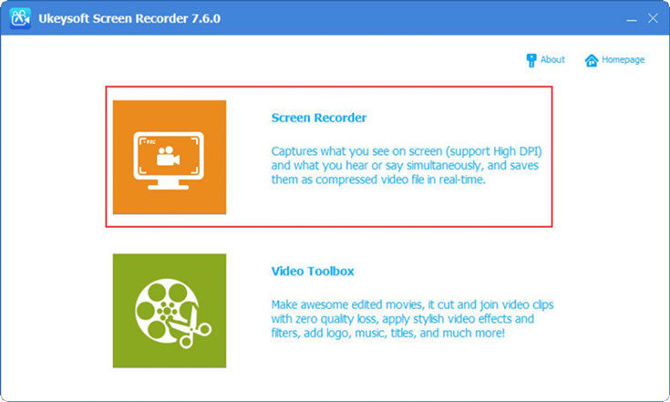 Capture screen and record Video with editing
