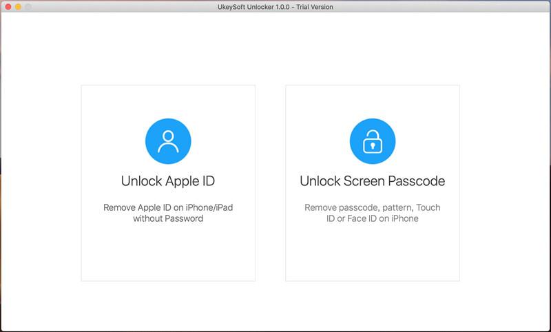 UkeySoft Unlocker разблокировать iPhone