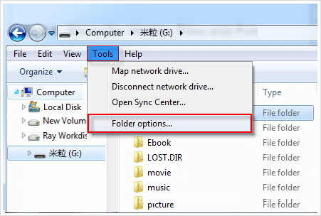 how to unlock encrypted files windows 7