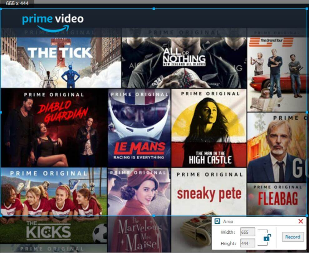 Amazon Prime Video Recorder: How to Record Amazon Prime