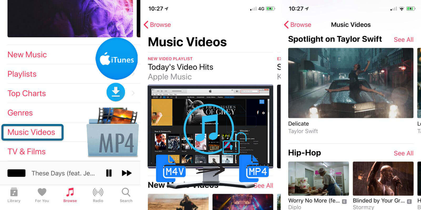 How to Download Apple Music Video to MP4 from iTunes Store