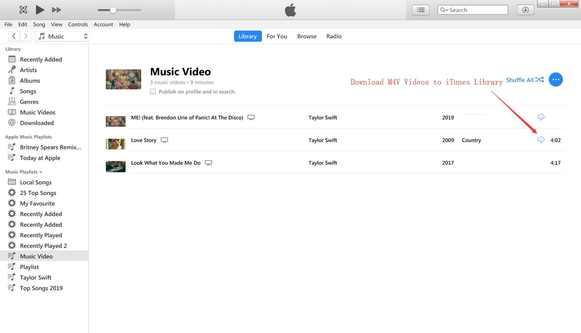 itunes music videos download free