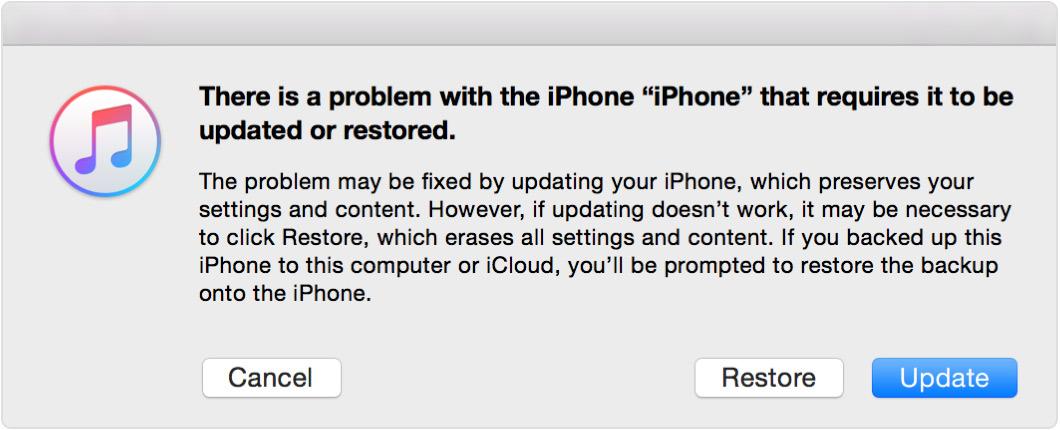 разблокировать украденный iphone с помощью itunes