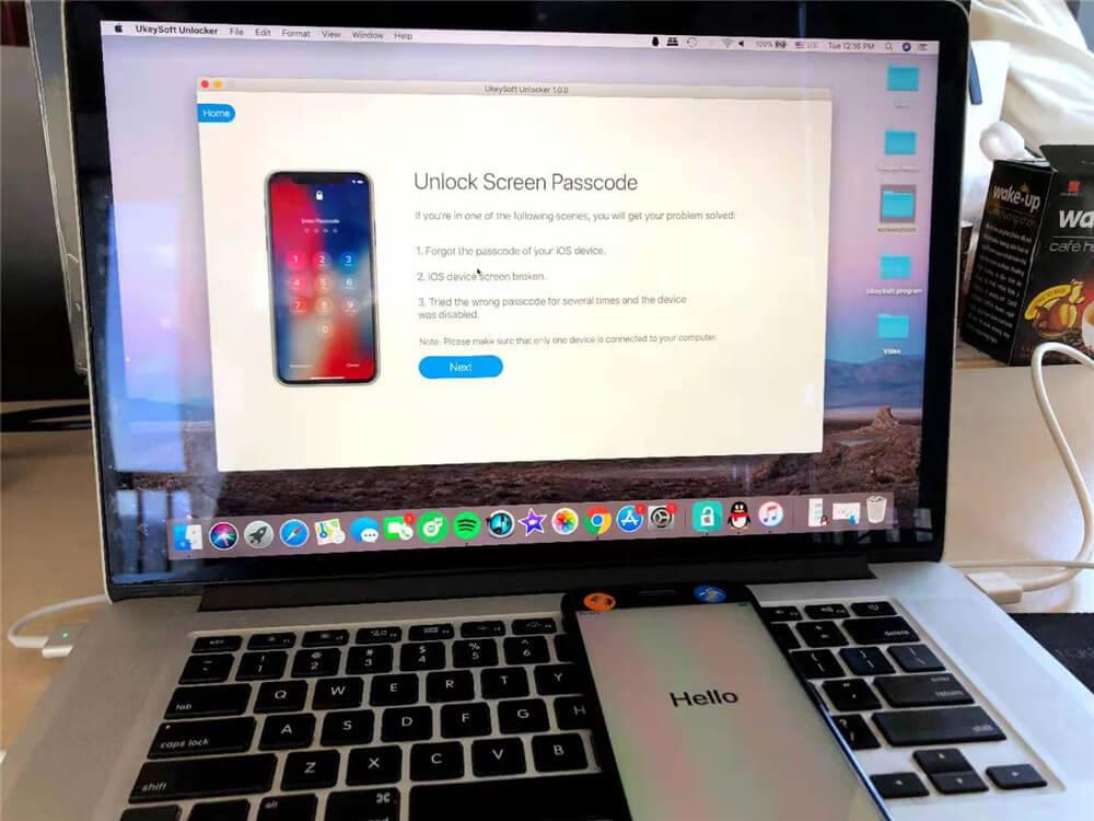 ukeysoft разблокировать айфон