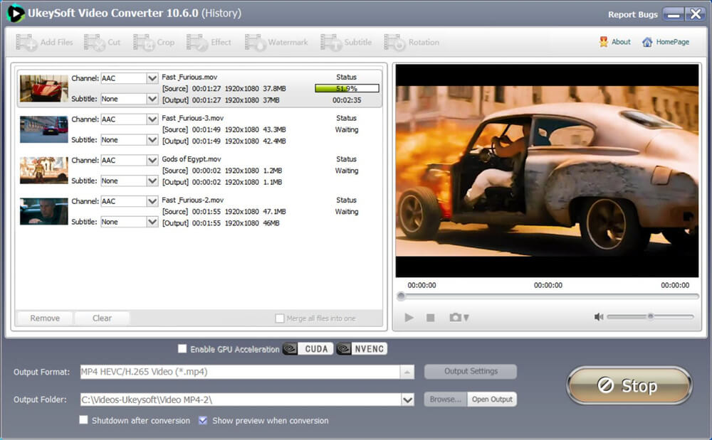 MOV to MP4