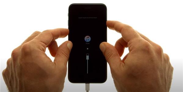 iPhone 7 en mode de récupération