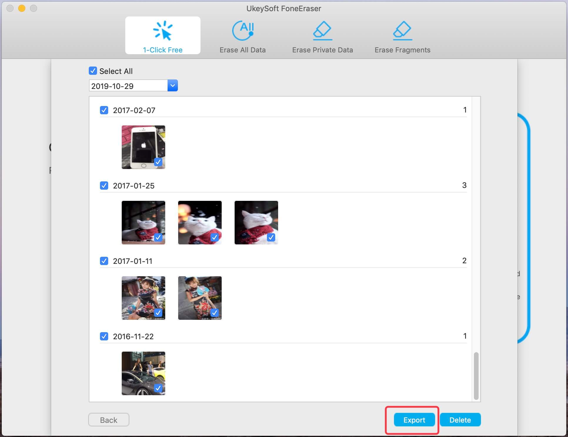 резервное копирование фото и видео с iphone на ПК