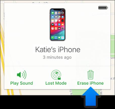 используйте icloud, чтобы исправить отключенный iphone