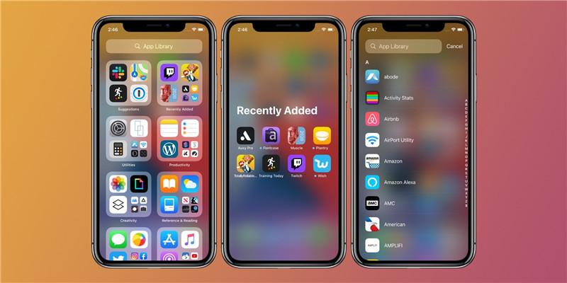 iOS 14 Новая библиотека приложений