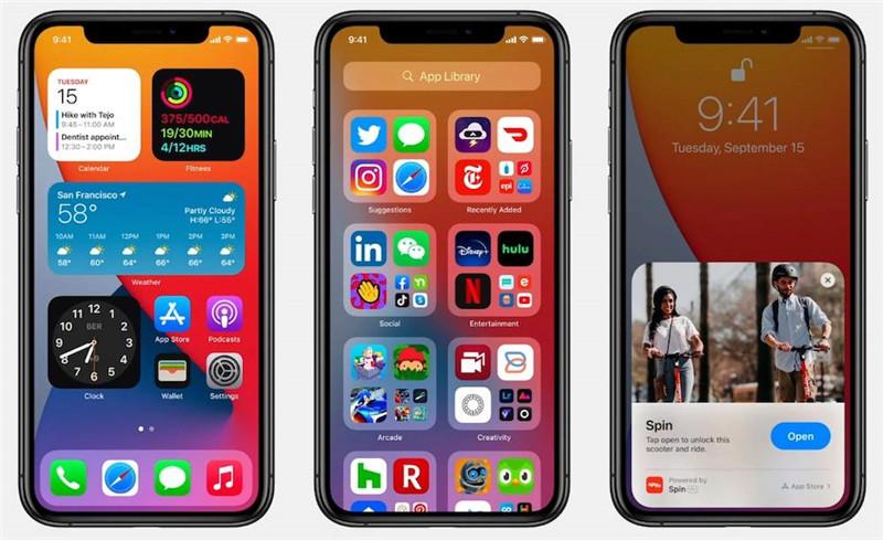 Виджеты iOS 14 на главном экране iPhone